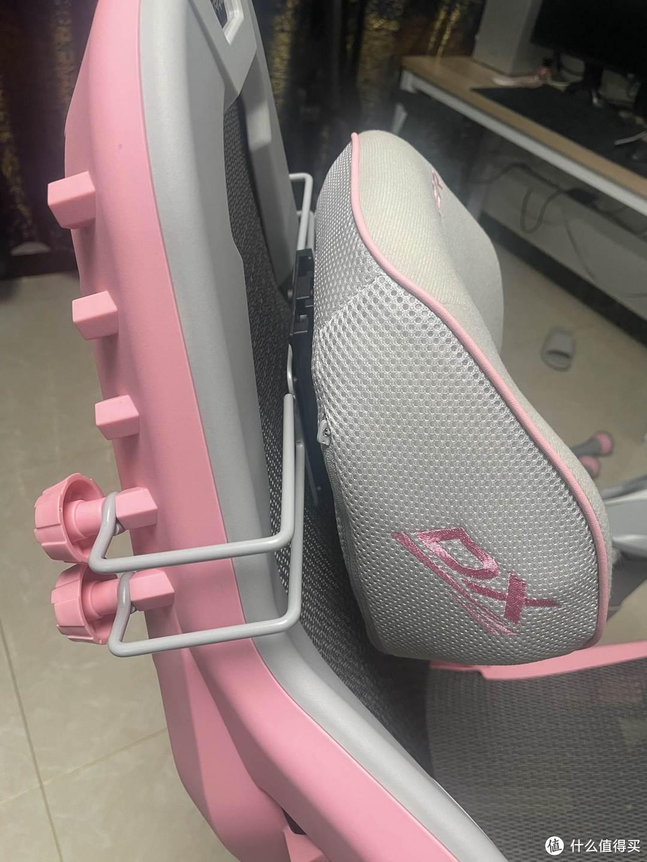 与众不同的粉色电竞椅——迪锐克斯AIR电竞网椅初体验