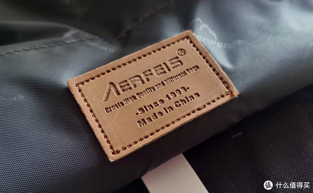 开箱:Aerfeis阿尔飞斯单肩摄影包