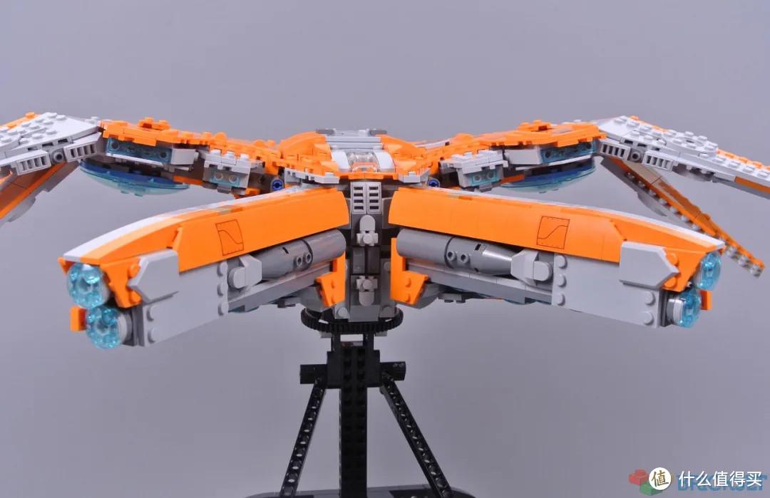 乐高漫威76193银河护卫队飞船开箱评测