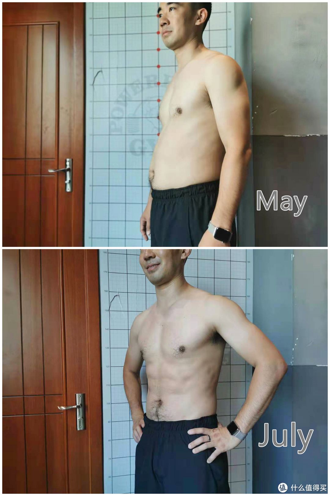 8周惊天逆袭,从大腹便便到腹肌若现
