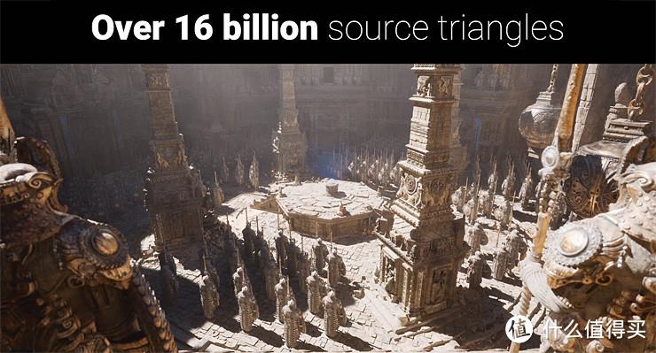 UE5 技术演示场景源模包含 160 亿三角形