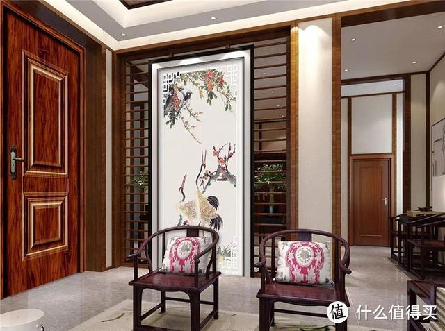 看遍了世间繁华,才懂中式最美,尤其是中式玄关,入户是诗情画意