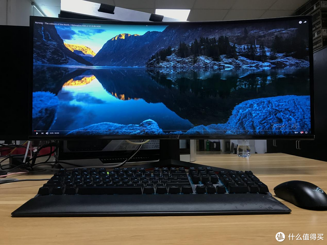LG 最强旗舰款 34寸带鱼屏 34GP950G 开箱展示