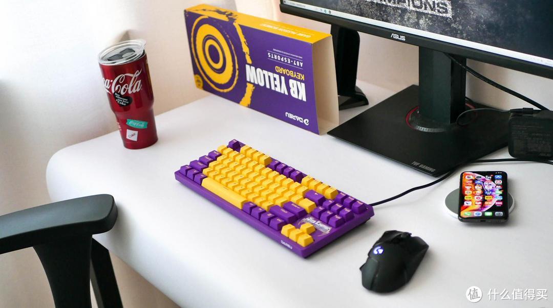 三百元的热拔插套件:达尔优A87机械键盘(紫金轴)体验