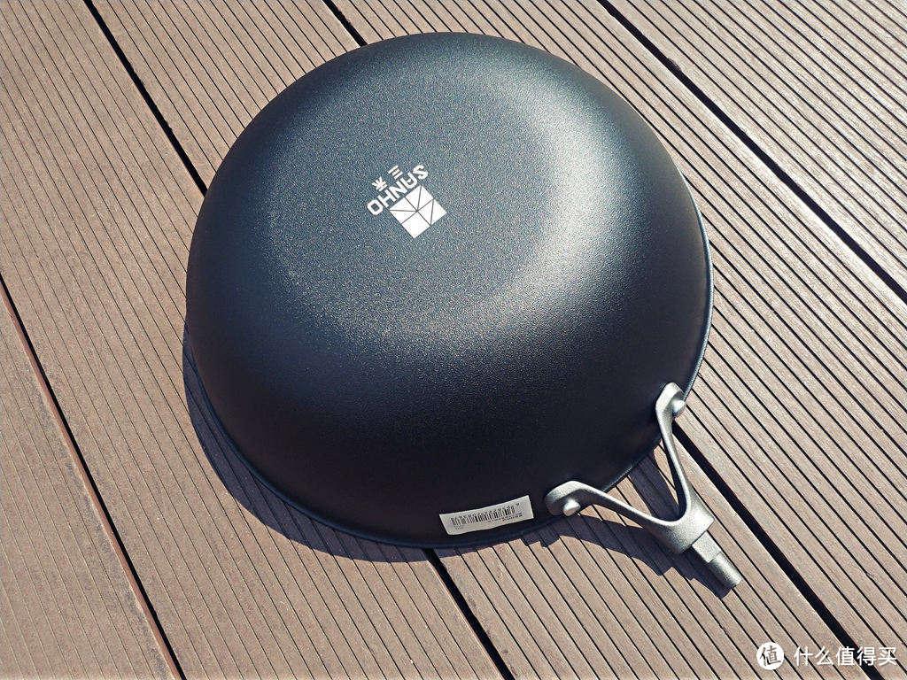 0涂层1KG的铁锅:三禾窒氮轻铁锅