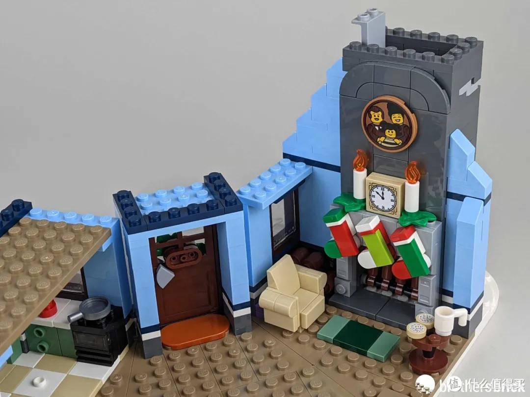 最棒的冬季乡村套装?乐高10293圣诞老人驾到开箱评测