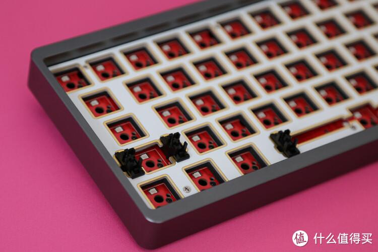 黑爵轻氪系列AC064无线三模机械键盘客制化套件体验