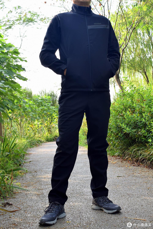 秋季户外穿什么?我选SALEWA沙乐华软壳套装