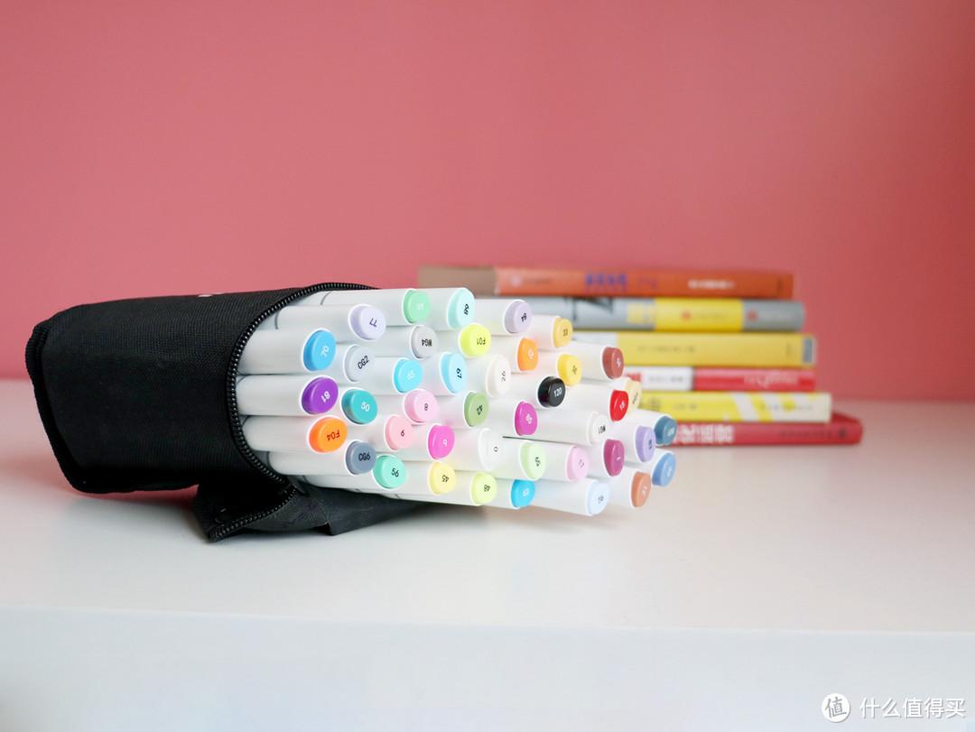 入手ohuhu马克笔40色套装,画出心中所想,大人小孩都喜欢