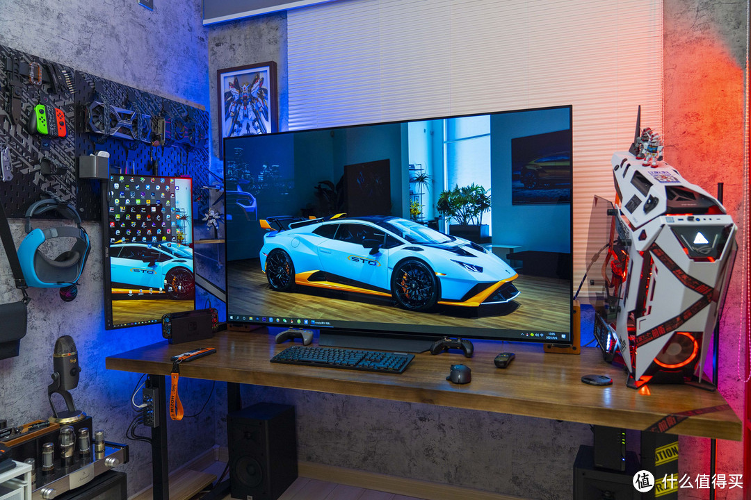 用65寸大屏打造专属游戏影音室:LG B1 65寸OLED电视体验分享
