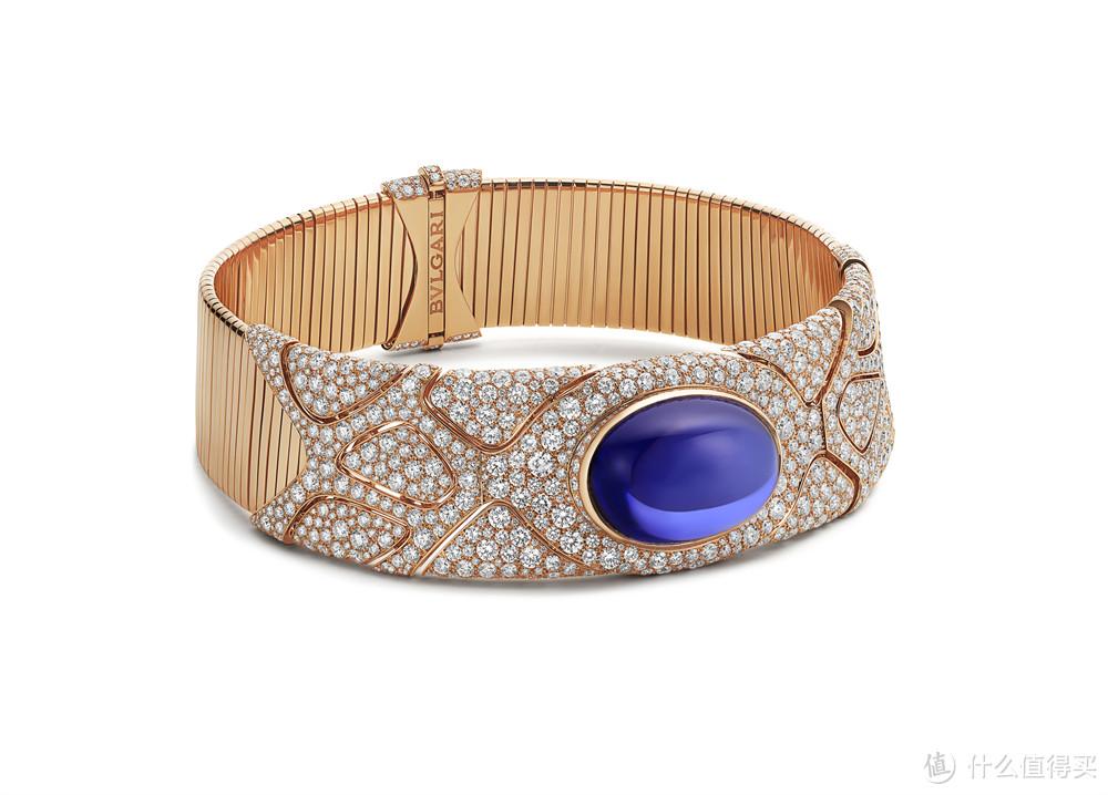 宝格丽Magnifica绮珍意宝高级珠宝系列Fluid Tanzanite优雅坦桑石项链