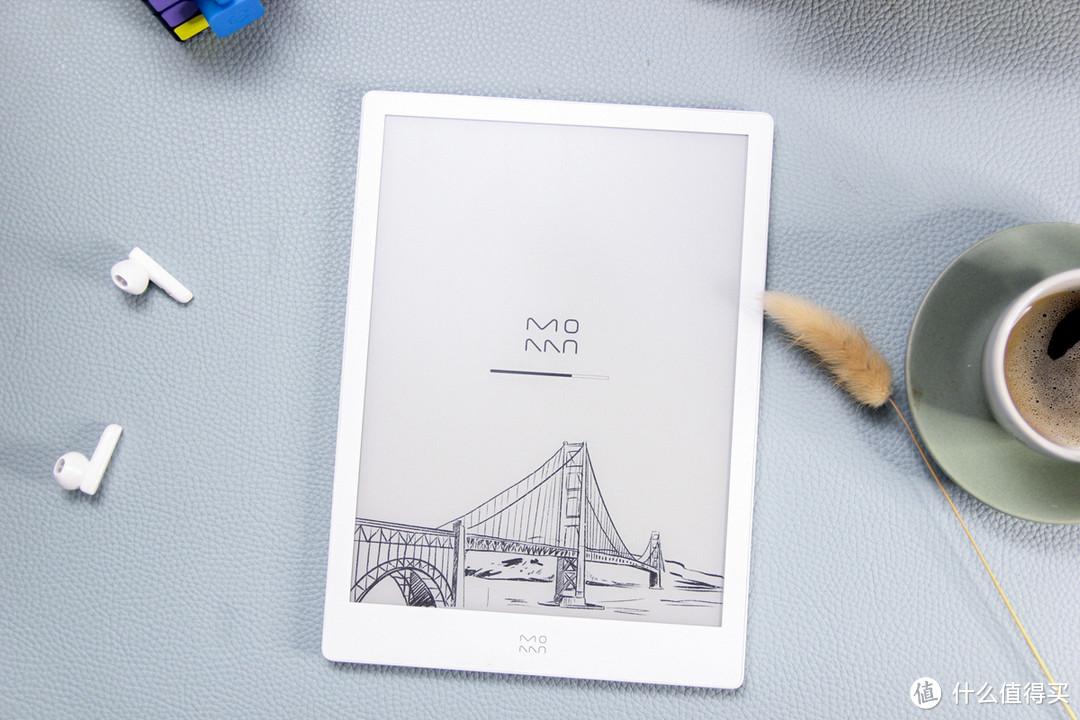 10寸墨水屏,支持蓝牙+双色温前光,墨案硬派X月落白测评