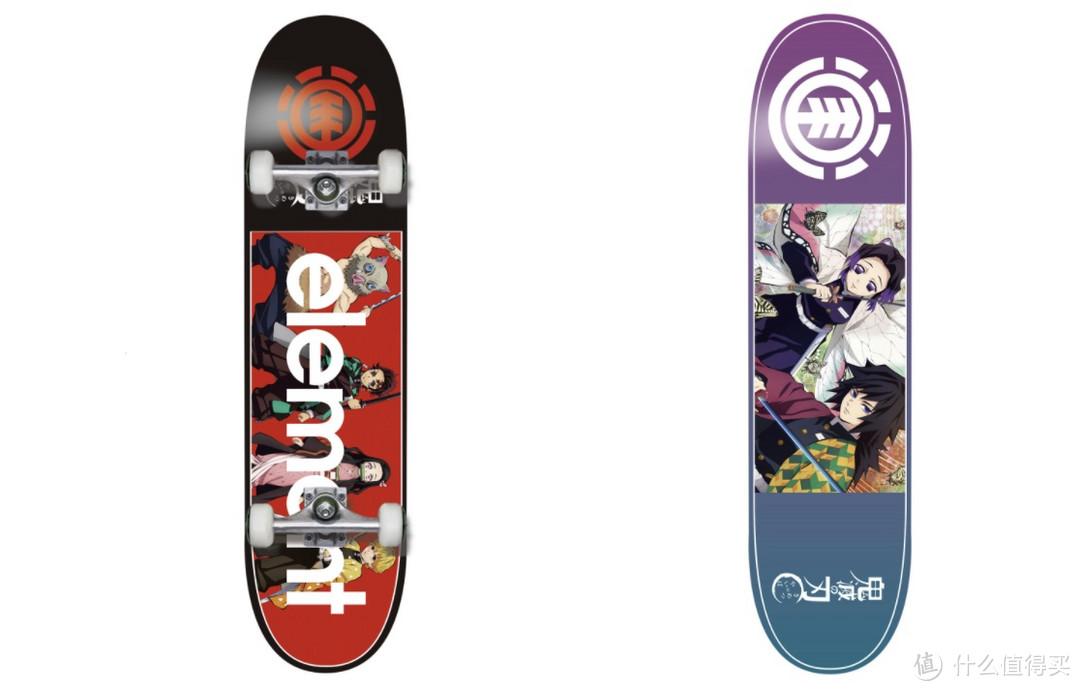Element Skateboards x《鬼灭之刃》最新联乘滑板系列积极发售!