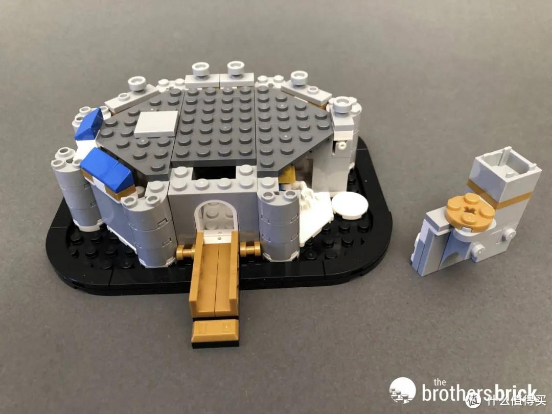 乐高40478迷你迪士尼城堡开箱评测