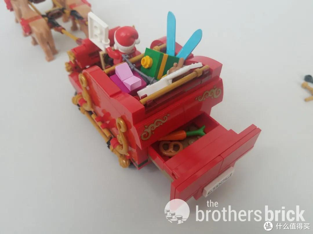 乐高40499圣诞老人的雪橇开箱评测