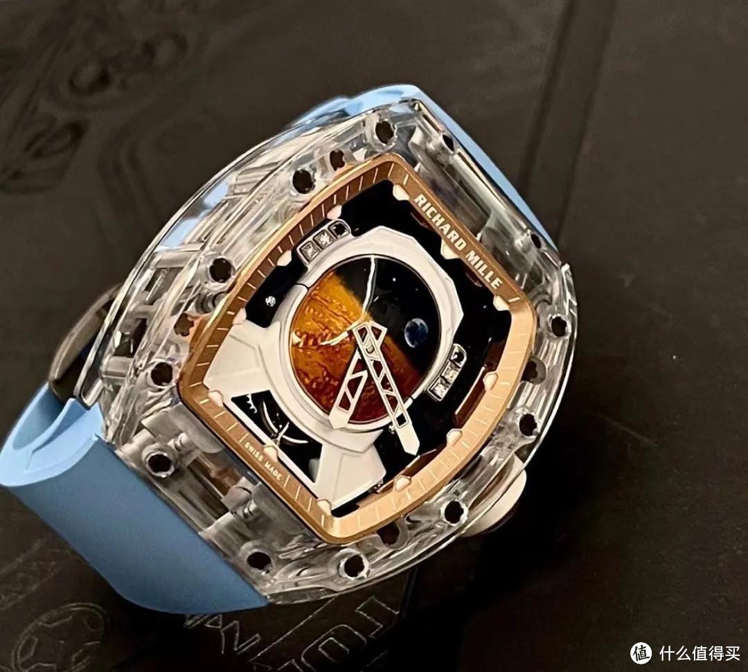 RM52-05蓝宝石水晶表壳,3800万