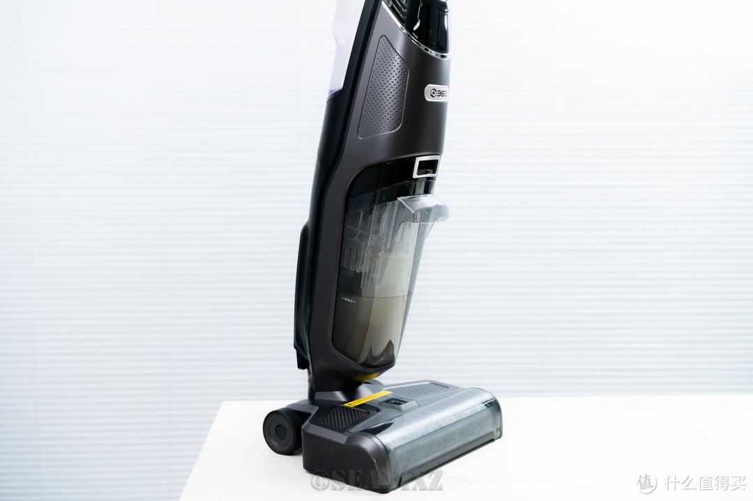 有了它可以立减90%家庭清洁工作量:360 手持洗地机 F100 使用评测