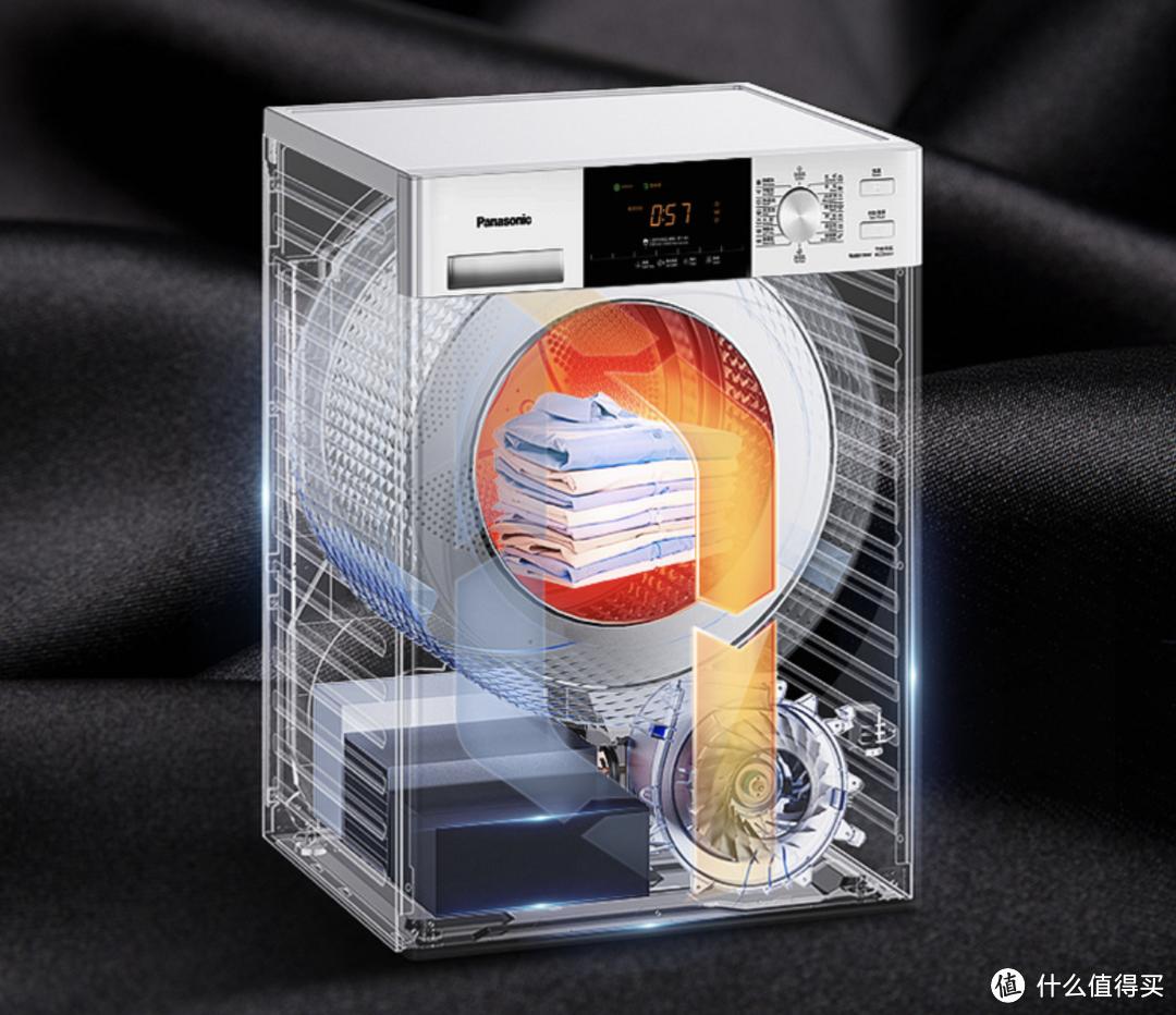 健康防过敏、变频精温烘!松下推出新款洗烘套装N92WT+900W