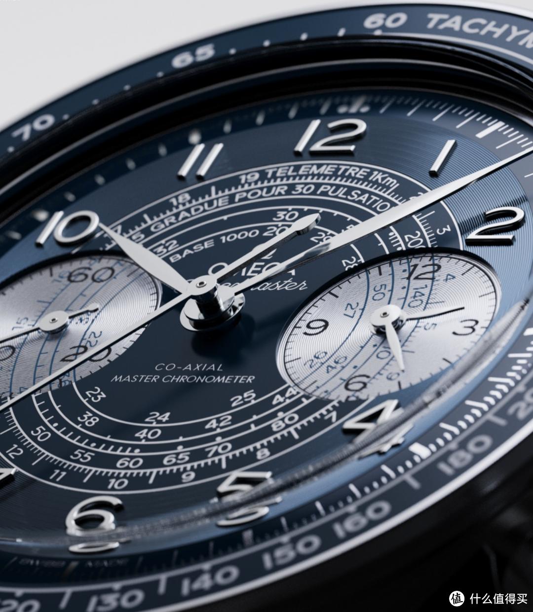 欧米茄推出全新超霸系列Chronoscope腕表